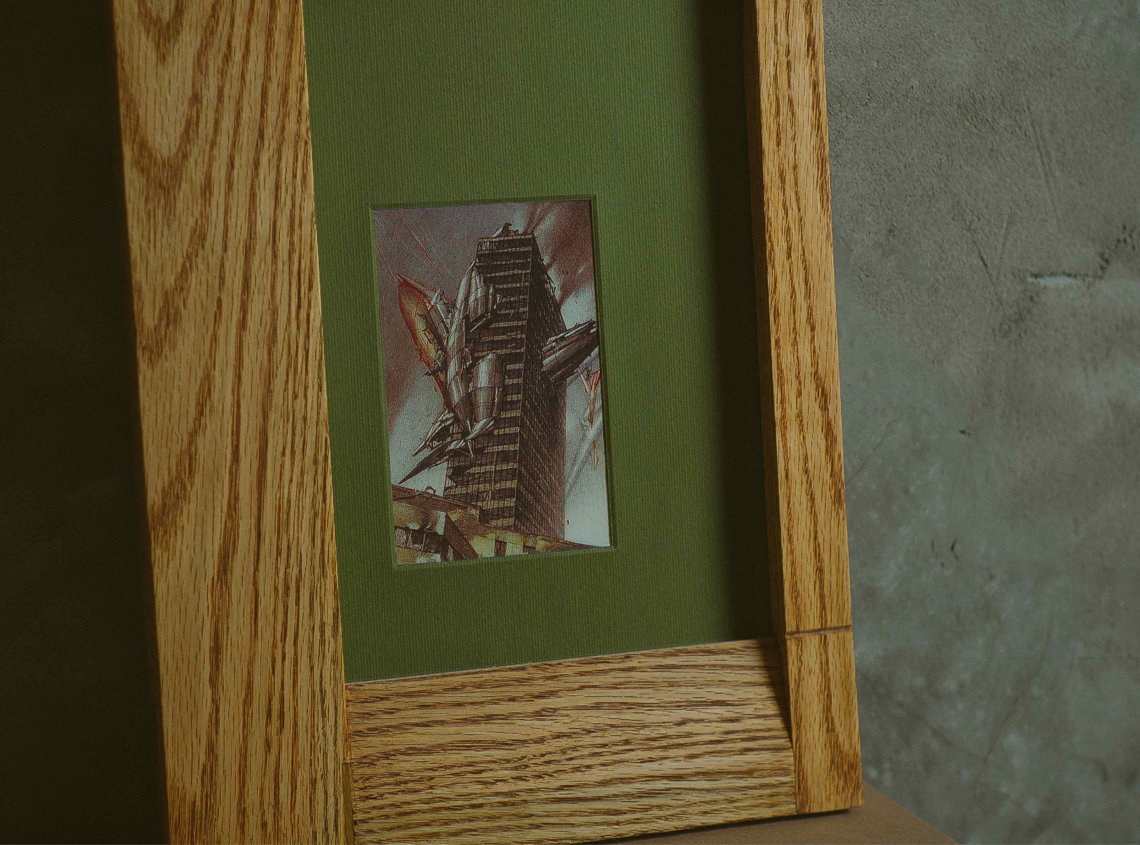 Рамка для фото CBS 1114 из массива клёна, дуба и американского ореха от Fly Massive Millworks
